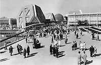1967 FILE PHOTO - ARCHIVES -<br /> <br /> Huge success: Expo 67 drew 50 million visitors to Montreal 23 years ago. Analysts say that to just break even; Expo 2000 would have to draw at least 55 million visitors to Metro.<br /> <br /> 1967<br /> <br /> PHOTO : Boris Spremo - Toronto Star Archives - AQP