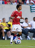 Fabio. Manchester United defeated Philadelphia Union, 1-0.
