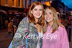 Enjoying the evening in Killarney on Thursday, l to r: Sarah O'Neill and Sarah Lehane from Killarney.