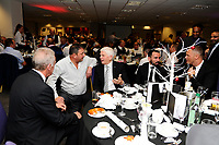 Pictured: During the Swansea City Christmas Party at the Liberty Stadium, Swansea, Wales, UK. Thursday 13th December 2018