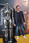 Carlos Santos in the exclusive 'Terminator: Hidden Destination' pass organized by SYFY<br /> October 23, 2019. <br /> (ALTERPHOTOS/David Jar)
