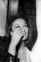 Paloma Picasso a Montreal dans les annees 80, date inconnue