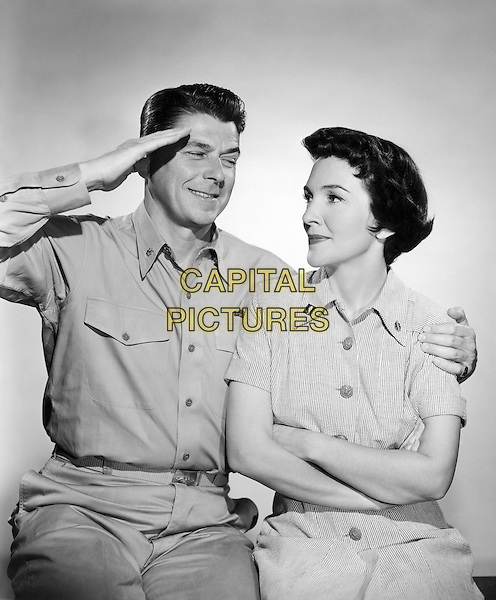 Ronald Reagan<br /> in Hellcats of the Navy (1957)<br /> *Filmstill - Editorial Use Only*<br /> CAP/NFS<br /> Image supplied by Capital Pictures