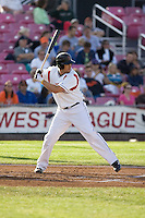 July 7, 2009: Salem-Keizer Volcanoes' C.J. Ziegler at-bat during a Northwest League game against the Tri-City Dust Devils at Volcanoes Stadium in Salem, Oregon.