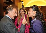 LUCA CORDERO DI MONTEZEMOLO CON TIZIANA ROCCA E CATERINA BALIVO<br /> APERTURA STORE FAY A FONTANELLA BORGHESE ROMA 10/2008