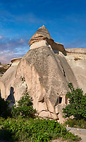 "Pictures & images of the fairy chimney rock formations and rock pillars of ""Pasaba Valley"" near Goreme, Cappadocia, Nevsehir, Turkey"