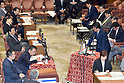 Prime Minister Abe is hard pressed by opposition parties about veterinary school favoritism scandal