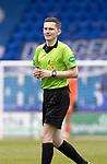 St Johnstone v Livingston…15.05.21  SPFL McDiarmid Park<br />Referee Craig Napier<br />Picture by Graeme Hart.<br />Copyright Perthshire Picture Agency<br />Tel: 01738 623350  Mobile: 07990 594431