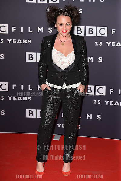 Jaime Winstone arrives for the BBC Films' 25th Anniversary Reception at Radio Theatre, New Broadcasting House, London. 27/03/2015 Picture by: Steve Vas / Featureflash