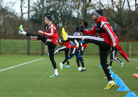 "Pictured L-R: Federico Fernandez and Ashley ""Jazz"" Richards Wednesday 10 December 2014<br />