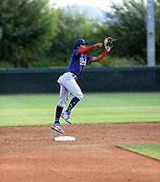 Wilman Diaz - 2021 AIL Dodgers (Bill Mitchell)