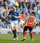 Philippe Senderos clears his lines