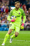 Jan Oblak of Atletico de Madrid during the match of Champions League between Atletico de Madrid and Real Madrid at Vicente Calderon Stadium in Madrid, May 10, 2017. Spain.