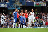 Pictured: Garry Monk of Swansea City. Saturday 17 September 2011<br /> Re: Premiership football Chelsea FC v Swansea City FC at the Stamford Bridge Stadium, London.