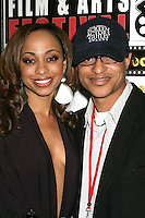 Caryn Ward and Clinton H. Wallace<br />at the Pan African Film Festival Premiere of 'Layla'. Culver Plaza Theatre, Culver City, CA. 02-13-09<br />Dave Edwards/DailyCeleb.com 818-249-4998