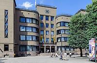 Postgebäude in Kaunas, Litauen, Europa