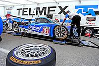 #01 Ford Riley, Scott Pruett, Sage Karam, Brickyard Grand Prix, Indianapolis Motor Speedway, Indianapolis, Indiana, July 2014.  (Photo by Brian Cleary/www.bcpix.com)
