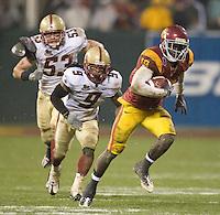 .USC 24-13 over Boston College at the 2009 Emerald Bowl at ATT Park in San Francisco, California, Saturday, Dec. 26, 2009. .