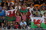 Glasgow 2014 Commonwealth Games<br /> Plenty of support for the welsh swimmers from fans.<br /> 27.07.14<br /> ©Steve Pope-SPORTINGWALES