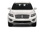 Car photography straight front view of a 2019 Lincoln MKC Base 5 Door SUV
