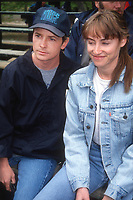 Michael J. Fox Tracy Pollan 1992<br /> Photo By John Barrett/PHOTOlink.net