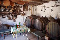 Wine cellar in ?krip, Bra? island, Croatia