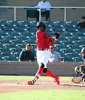 Railin Tejada participates in the MLB International Showcase at Salt River Fields on November 12-14, 2019 in Scottsdale, Arizona (Bill Mitchell)
