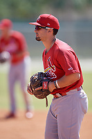 St. Louis Cardinals Chris Chinea (41) during a minor league Spring Training game against the Washington Nationals on March 27, 2017 at the Roger Dean Stadium Complex in Jupiter, Florida.  (Mike Janes/Four Seam Images)