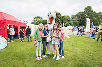 Pictured: Mascot, Cyril the swan Monday 20 July 2015<br />