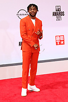 LOS ANGELES - JUN 27:  Mooski at the BET Awards 2021 Arrivals at the Microsoft Theater on June 27, 2021 in Los Angeles, CA