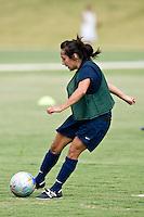 SAN ANTONIO, TX - AUGUST 15, 2007: The University of Texas at San Antonio Roadrunners Women's Soccer practice at the UTSA Soccer Field. (Photo by Jeff Huehn)