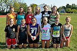 TERRYVILLE, CT - 31 August 2012-083112EC07--    Thomaston's soccer team: Bottom row: Amanda Hickey, Samantha Brostek, Sara Levasseur, Victoria Palermo, Bethany Dilley, Megan Foell.  Standing: Morgan Graham, Chasse Guerrera, Sydney Keith, Kellie Dattilo,Cassie Powell, and Heather Jones.  The Thomaston and Terryville girls soccer teams have combined for the fall season.  Erin Covey Republican American.