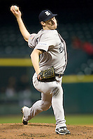 Rice Owl pitcher Tony Cingrani against the Texas Tech Red Raiders on Saturday March 6th, 2100 at the Astros College Classic in Houston's Minute Maid Park.  (Photo by Andrew Woolley / Four Seam Images)