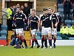 Dundee v St Johnstone….31.12.16     Dens Park    SPFL<br />Kostadin Gadzhalov celebrates his goal<br />Picture by Graeme Hart.<br />Copyright Perthshire Picture Agency<br />Tel: 01738 623350  Mobile: 07990 594431