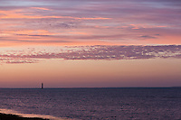 Europe/France/Poitou-Charentes/17/Charente-Maritime/Ile de Ré/Sainte-Marie-de-Ré: Lumière du soir sur l'océan