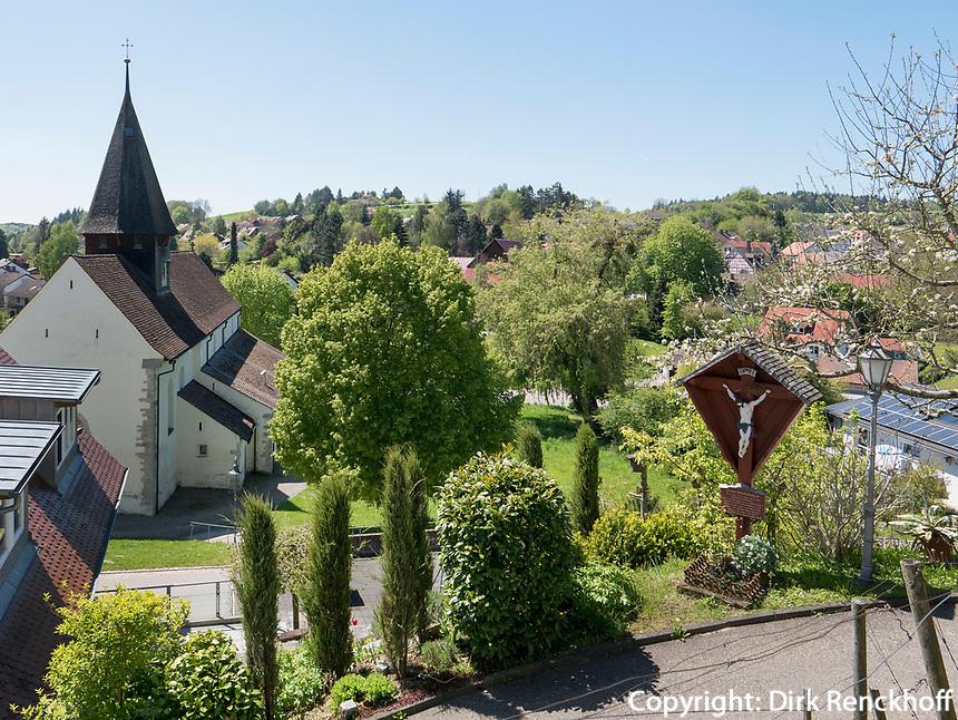 Kirche von Schienen/Öhningen, Baden-Württemberg, Deutschland, Europa<br /> church of Schienen/Öhningen, Baden-Württemberg, Germany, Europe