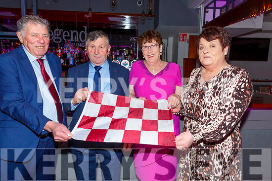 Pictured at the Piarsaigh na Dromoda GAA Social in the Sea Lodge, Waterville on Friday night were l-r; James Michael O'Sullivan, John O'Sullivan, Sheila & Eileen O'Sullivan.