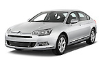 Front three quarter view of a 2010 Citroen C5 Confort 4 Door Sedan 2WD