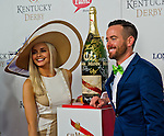 MAY 2, 2015: Scenes from around the track as hats, horses and high fashion were everywhere at Churchill Downs in Louisville, Kentucky. John Voorhees/ESW/CSM