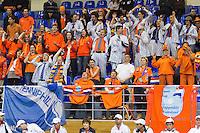 05-03-11, Tennis, Oekraine, Kharkov, Daviscup, Oekraine - Netherlands, Dutch supporters