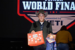 Jake Orris during the Team Roping Back Number Presentation at the Junior World Finals. Photo by Andy Watson. Written permission must be obtained to use this photo in any manner.