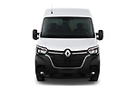 Car photography straight front view of a 2020 Renault Master Confort 4 Door Cargo Van