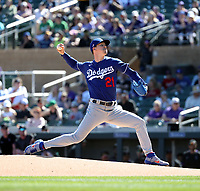 Walker Buehler - Los Angeles Dodgers 2020 spring training (Bill Mitchell)