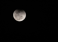 We caught the tail end of a partial lunar eclipse over the Cristalino River one evening.