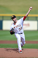 Mesa Solar Sox pitcher Nate Smith (39) during an Arizona Fall League game against the Surprise Saguaros on October 17, 2014 at Cubs Park in Mesa, Arizona.  Mesa defeated Mesa 5-3.  (Mike Janes/Four Seam Images)