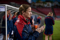 Tampa, FL - June 14, 2014: The USWNT defeated France 1-0 during an international friendly at Raymond James Stadium.
