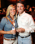 Madison Hastings and Stuart  Ford at the Cattle Baron's Ball at the George Ranch Saturday April 24,2010.. (Dave Rossman Photo)
