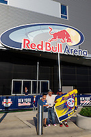 Harrison, NJ - Wednesday July 06, 2016: Red Bull Arena, fans during a friendly match between the New York Red Bulls and Club America at Red Bull Arena.