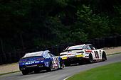 #20: Harrison Burton, Joe Gibbs Racing, Toyota Supra Dex Imaging and #92: Josh Williams, DGM Racing, Chevrolet Camaro Alloy Employer Services/ProAct