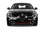 Car photography straight front view of a 2016 Alfaromeo Giulietta Super 5 Door Hatchback Front View